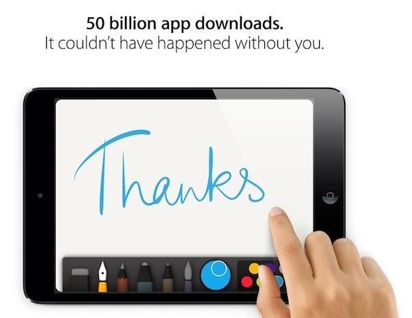 app store 50 billion