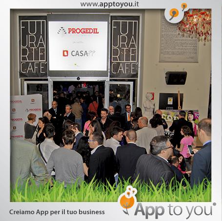 casapp, evento lancio casa app a futurarte
