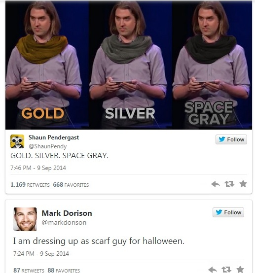 gold scarf guy