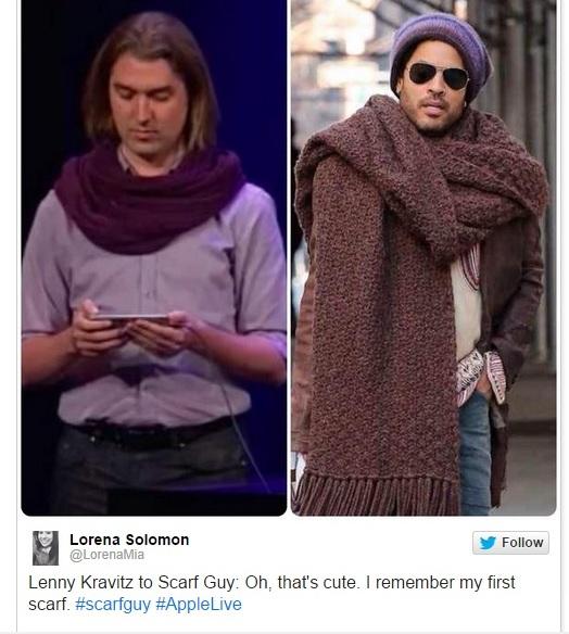 lenny kravitz scarf guy