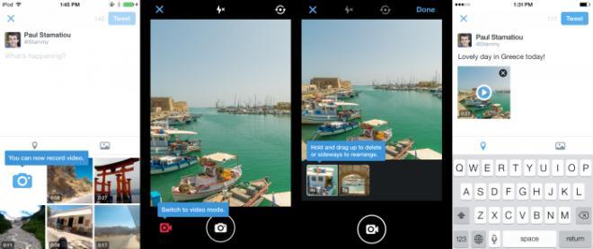 twitter app video sharing