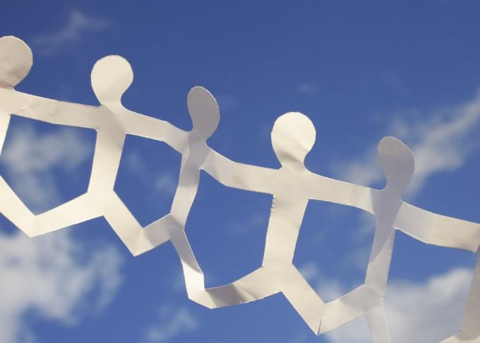 Paper Chain Sky