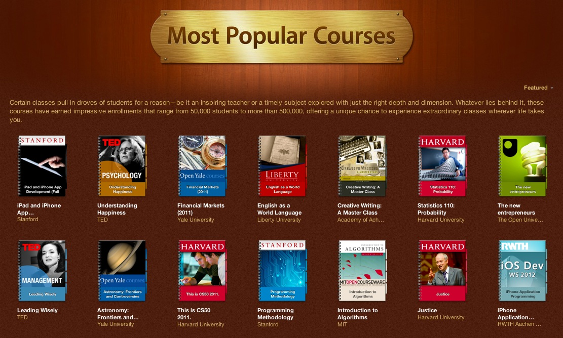 iTunes-U-most-popular-courses