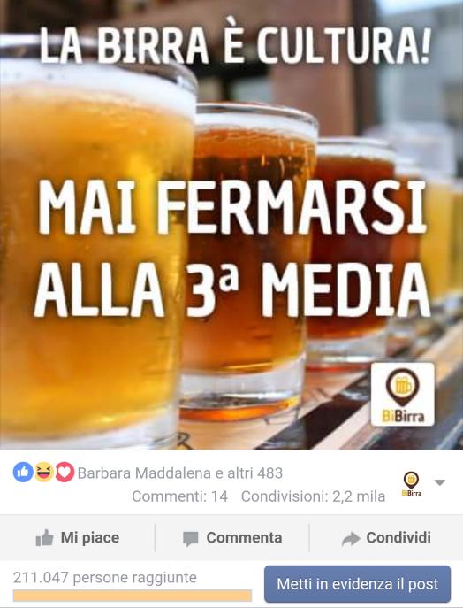 La birra è cultura