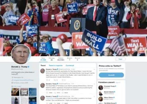 Trump perde follower su Twitter