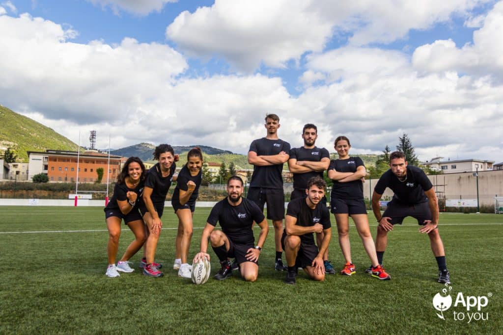 squadra rugby apptoyou team app to you digital agency roma milano agenzia digitale