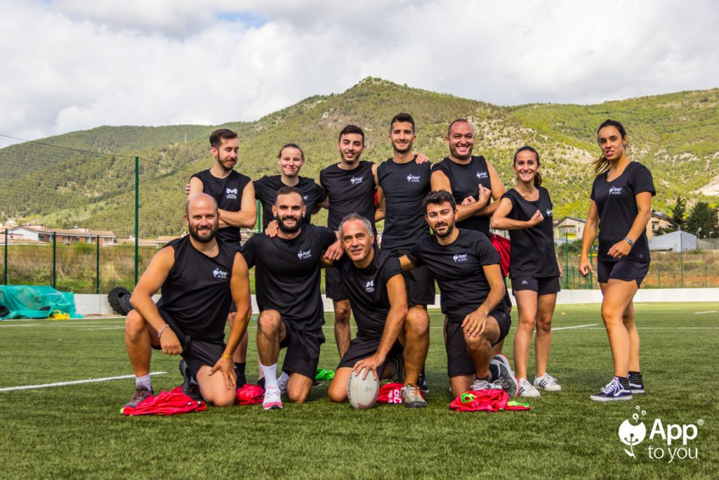 seconda squadra rugby apptoyou team app to you digital agency roma milano agenzia digitale