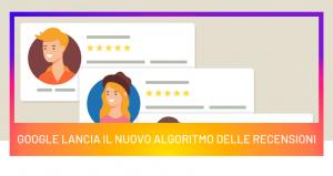 Google lancia l'aggiornamento dell'algoritmo delle recensioni dei prodotti