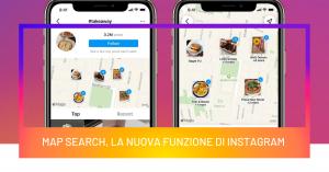 Map Search, la nuova funzione di Instagram per trovare luoghi geolocalizzati